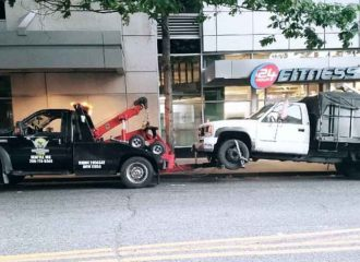 integrated tow truck