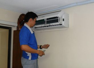 split ac indoor parts name