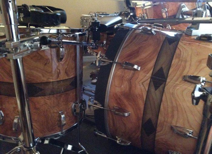 walnut drum wrap